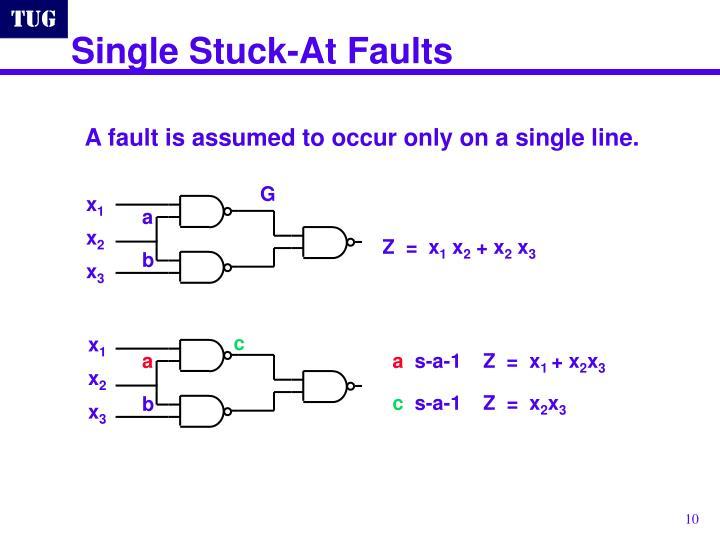 Single Stuck-At Faults