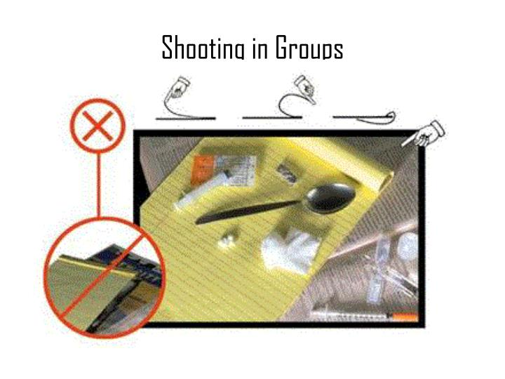 Shooting in Groups