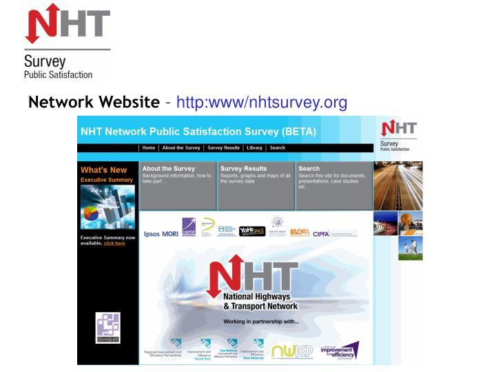 Network Website