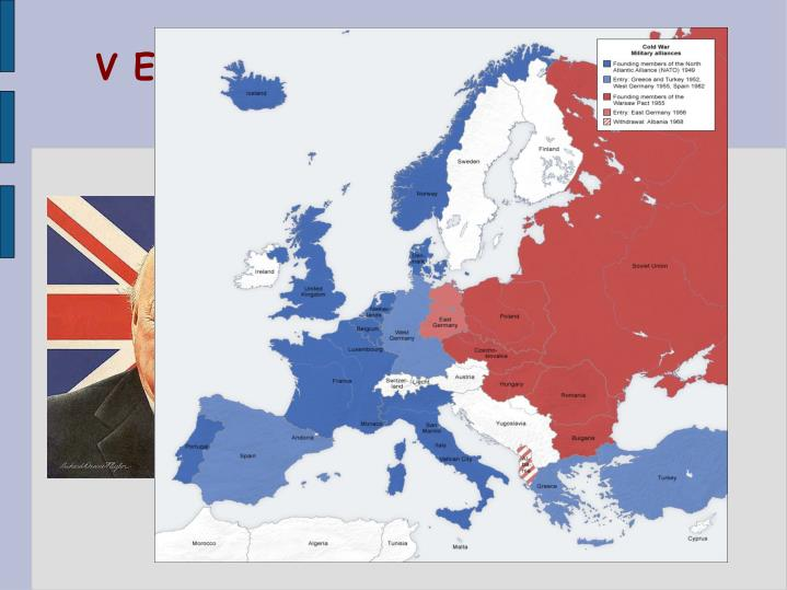 """V Evropě se soupeření projevilo mj. Vznikem """"Železné opony"""""""