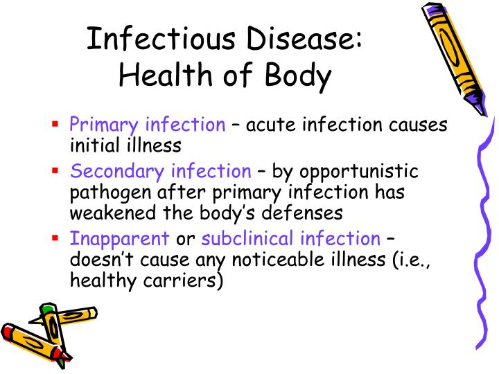 Infectious Disease: Health of Body