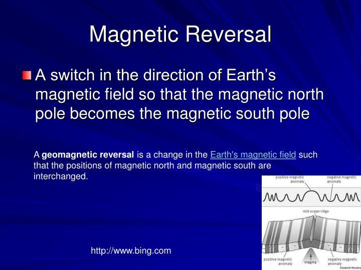 Magnetic Reversal