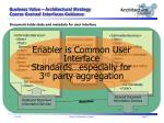 business value architectural strategy coarse grained interfaces guidance2