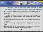 the debt crisis in the euro zone a risk of new recession and or the crisis with a double bottom4
