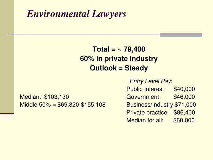 Environmental Lawyers