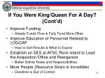 if you were king queen for a day cont d1