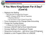 if you were king queen for a day cont d2