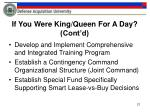 if you were king queen for a day cont d3