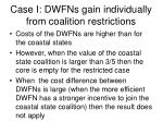 case i dwfns gain individually from coalition restrictions