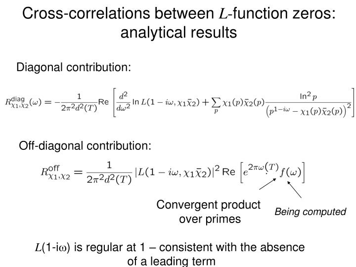 Cross-correlations between