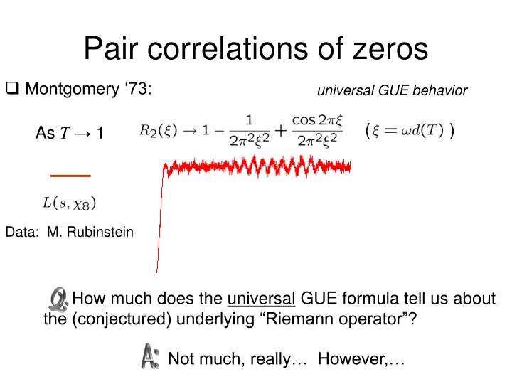 Pair correlations of zeros