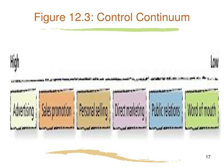 Figure 12.3: Control Continuum