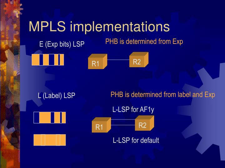 MPLS implementations