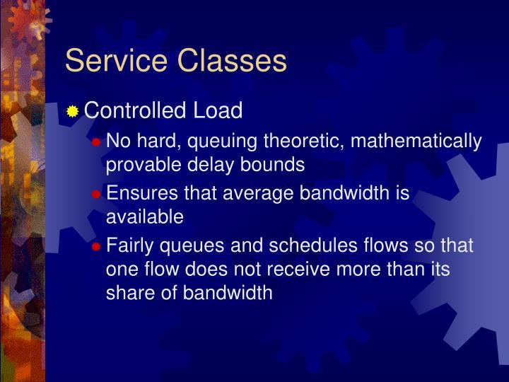 Service Classes