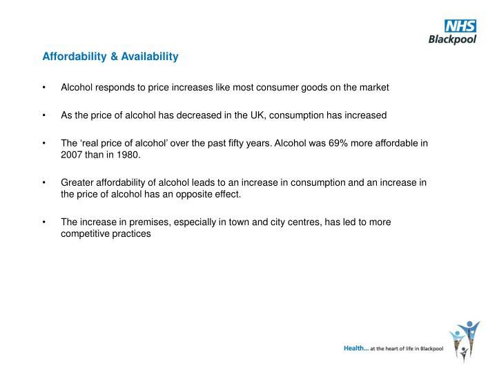 Affordability & Availability
