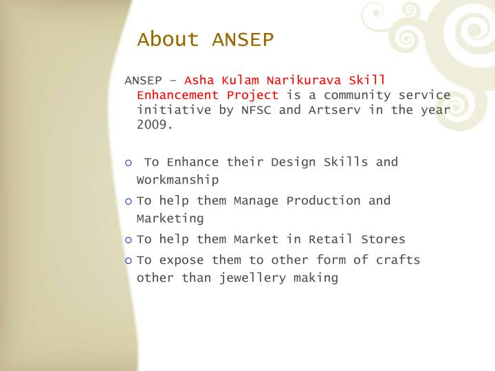 About ANSEP