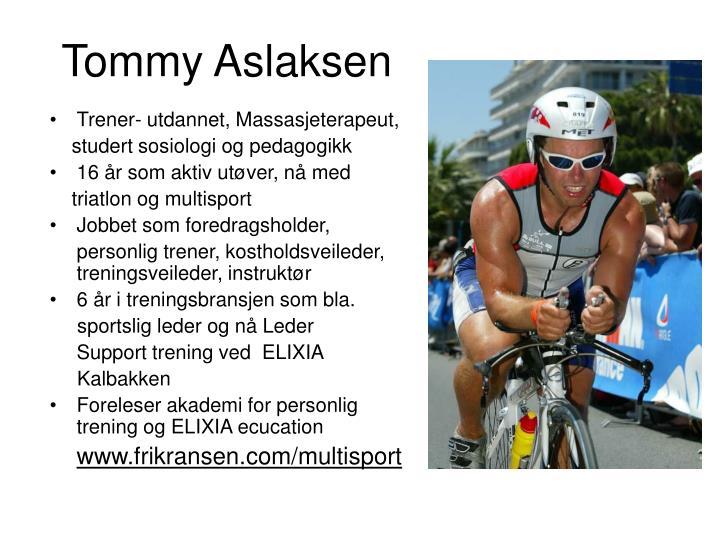 Tommy Aslaksen