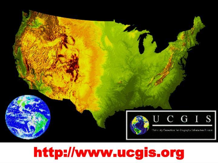 http://www.ucgis.org