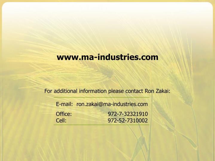 www.ma-industries.com