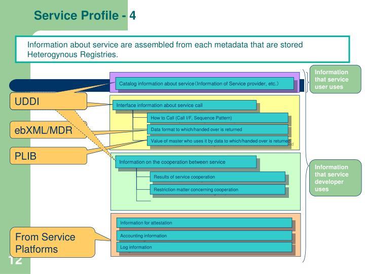 Service Profile - 4