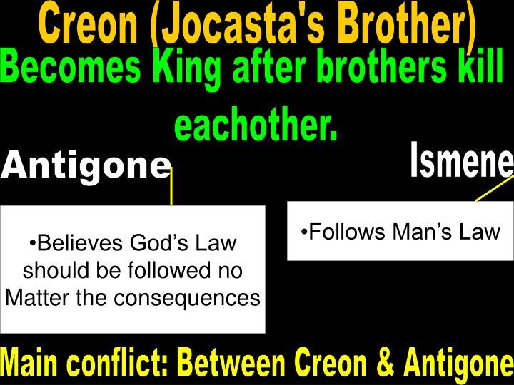 Creon (Jocasta's Brother)