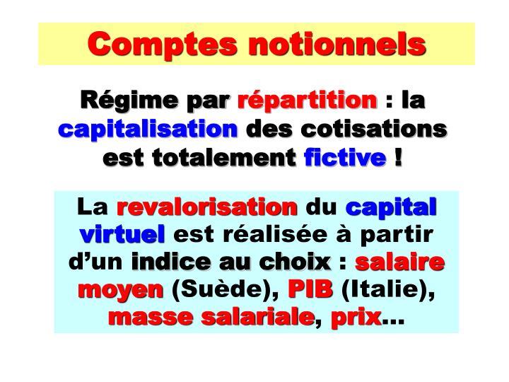 Comptes notionnels