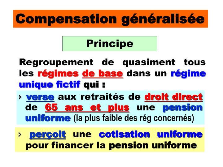 Compensation généralisée