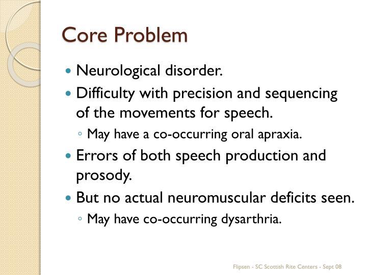 Core Problem