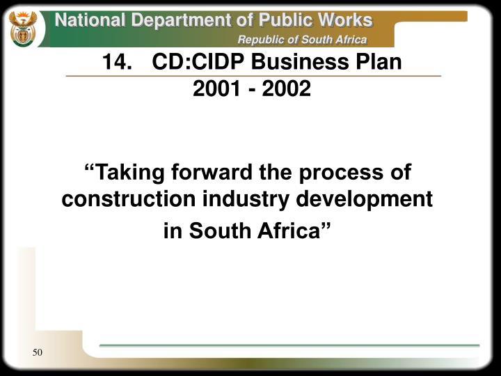 14.CD:CIDP Business Plan