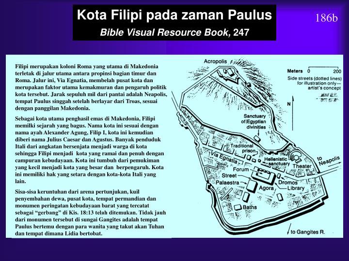 Kota Filipi pada zaman Paulus