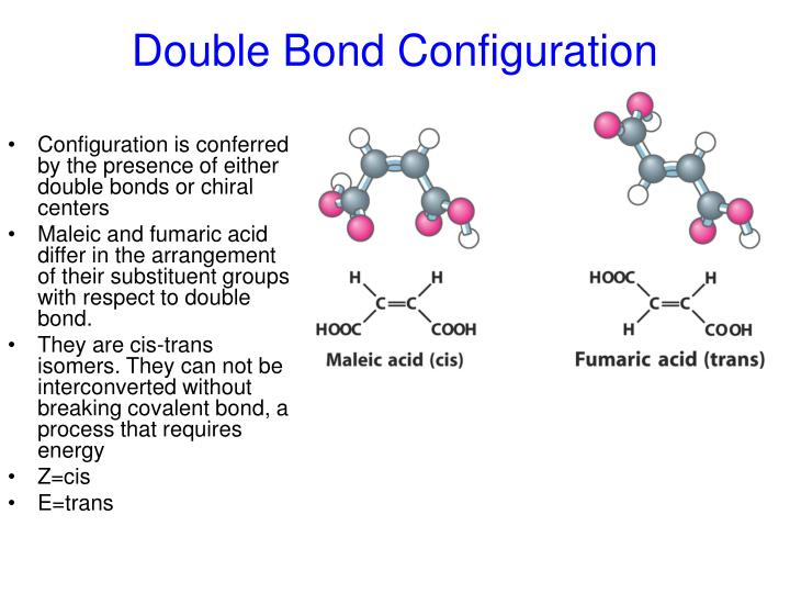 Double Bond Configuration