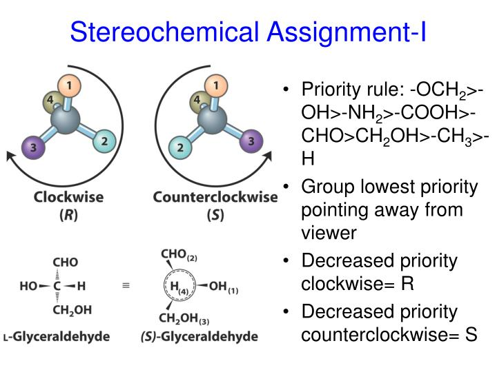 Stereochemical Assignment-I