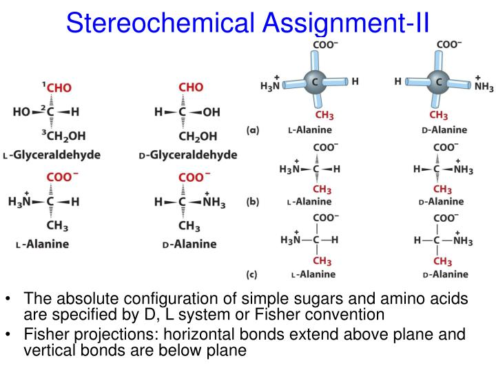 Stereochemical Assignment-II