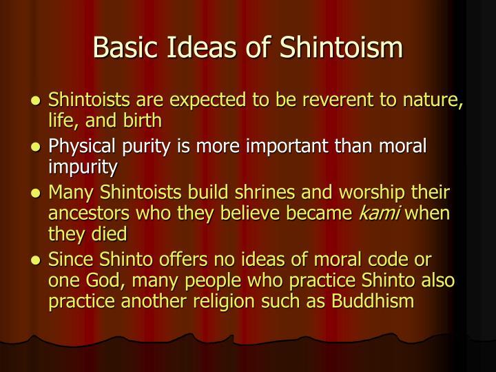 Basic Ideas of Shintoism