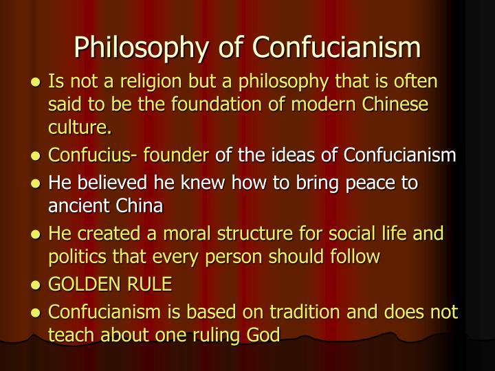 Philosophy of Confucianism