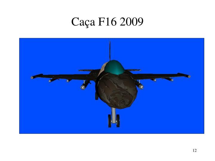 Caça F16 2009