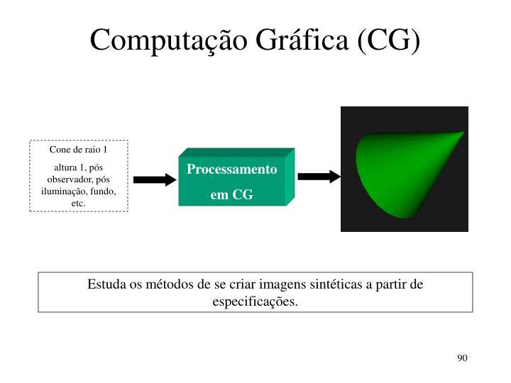 Computação Gráfica (CG)