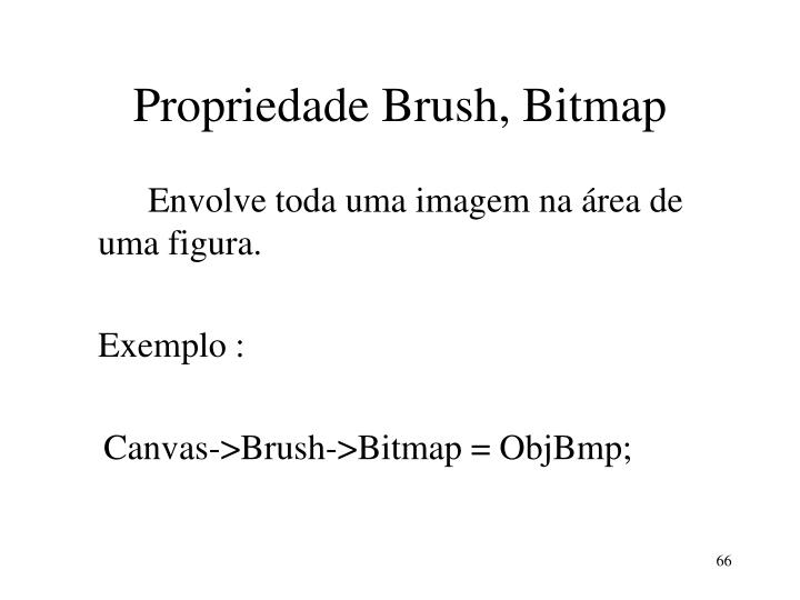 Propriedade Brush, Bitmap