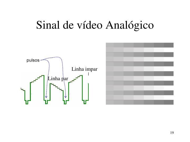 Sinal de vídeo Analógico