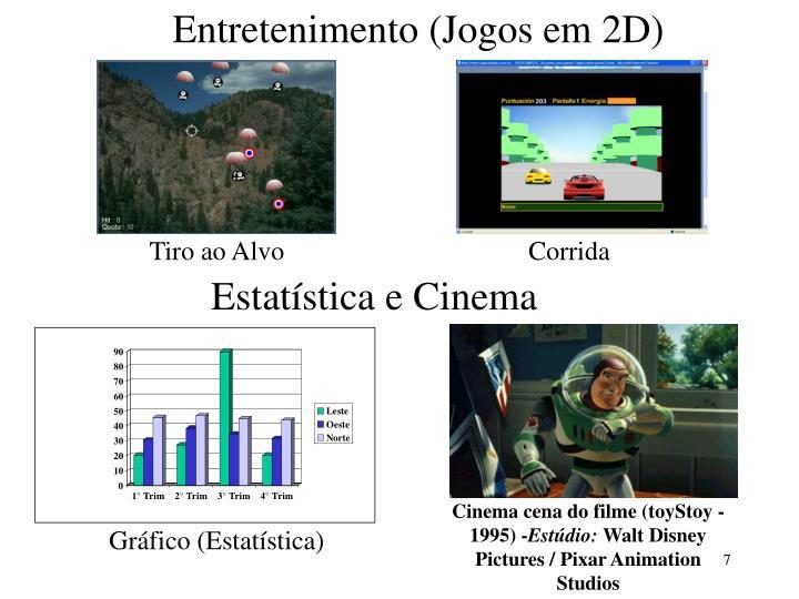 Entretenimento (Jogos em 2D)