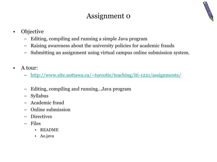 Assignment 0