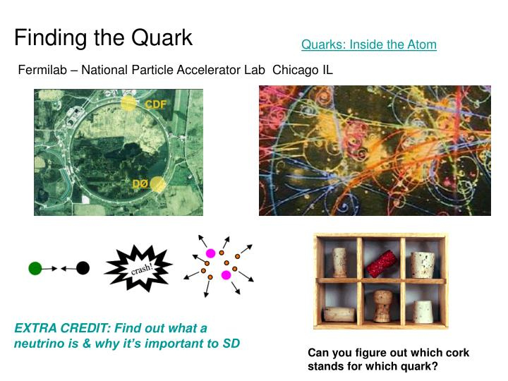 Finding the Quark