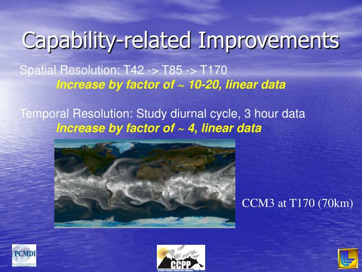 Capability-related Improvements