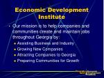economic development institute