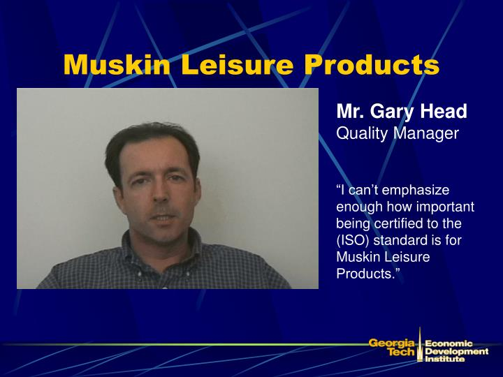 Muskin Leisure Products