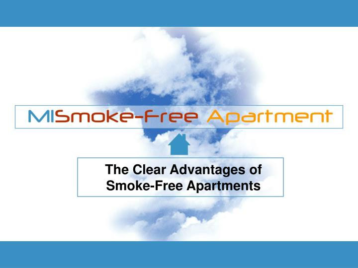 The Clear Advantages of Smoke-Free Apartments