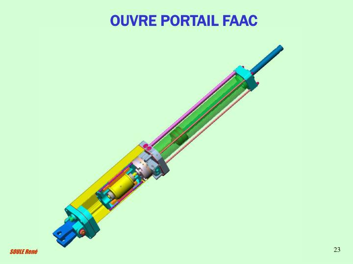 OUVRE PORTAIL FAAC