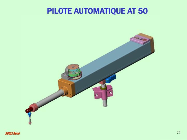 PILOTE AUTOMATIQUE AT 50
