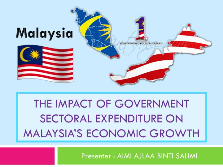 The impact of government sectoral expenditure on malaysia s economic growth