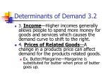 determinants of demand 3 23